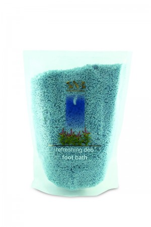 Refreshing and deodorizing pedicure salts SNB