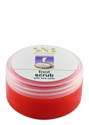 Foot scrub with sea salts SNB