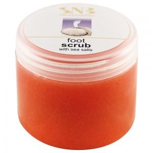 Foot scrub with sea salts SNB 500 ml.