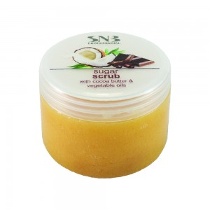 Sugar body and foot scrub with cocoa and vegetable oils SNB