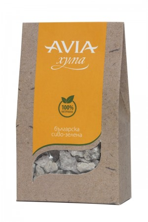 Natural Bulgarian brown-green Fuller's Earth clay in chunks Avia