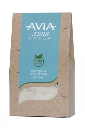 Natural Bulgarian brown green Fuller's Earth clay powder Avia