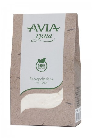 Natural Bulgarian white Fuller's Earth clay Avia