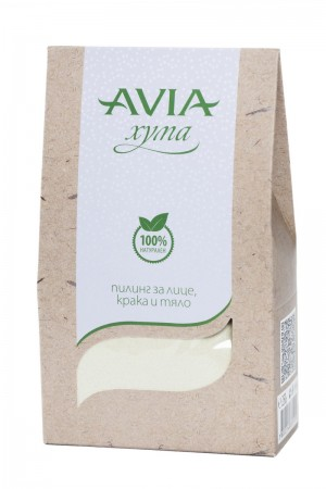 Natural face and body Fuller's Earth scrub Avia