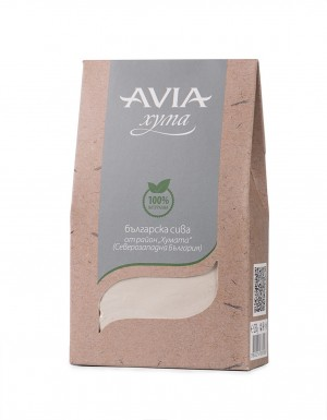 Natural Bulgarian grey Fuller's Earth clay Avia