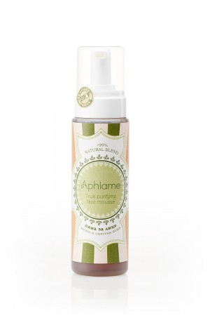 Bio face cleansing mousse for oily skin Aphlame Natural Cosmetic