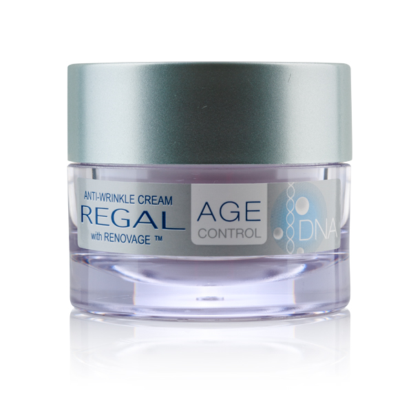Anti-wrinke face cream with RENOVAGE™ Regal Age Control DNA Rosa Impex