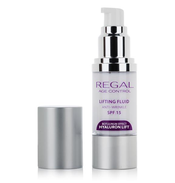 Лифтинг флуид SPF 15 Regal Age Control Hyaluron Lift Rosa Impex