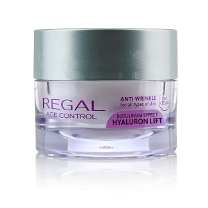 Anti-wrinkle day cream UV A + UV B Regal Age Control Hyaluron Lift Rosa Impex