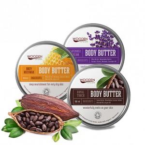 Пухкави органични бутери за тяло от Wooden Spoon